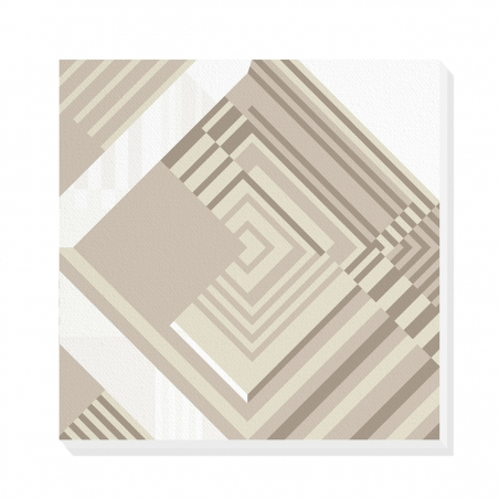 Tablou canvas decorativ Geometric Urban Moon II 50 x 50 cm