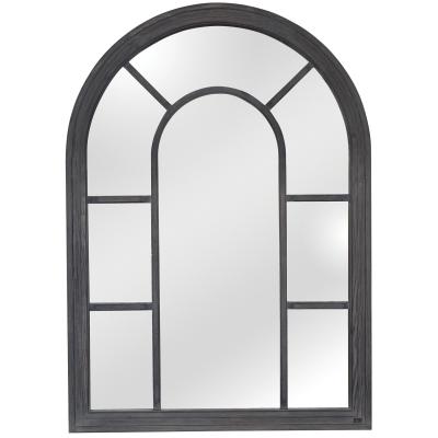 Oglinda vintage cu rama din lemn brad 100 x 140 cm DISD6591217