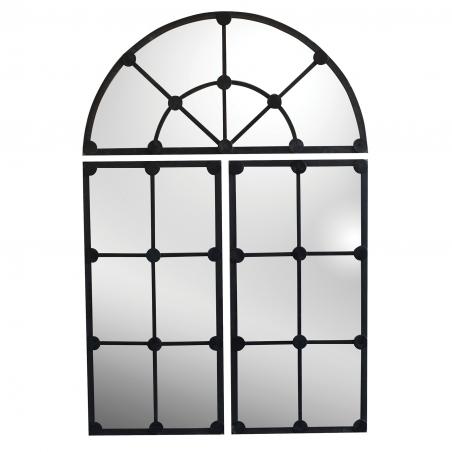 Oglinda vintage cu rama din metal 80 x 120 cm DISD7231217