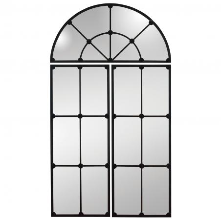 Oglinda vintage cu rama din metal 100 x 180 cm DISD6761217