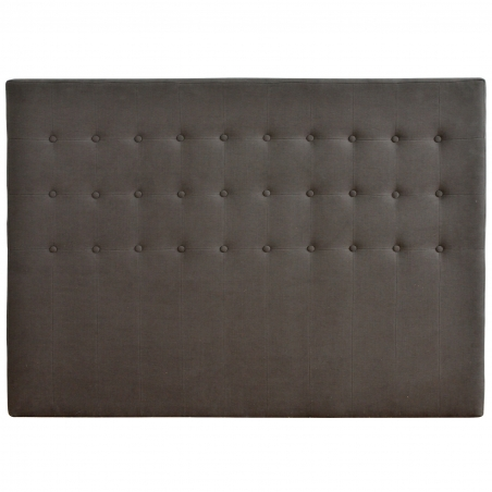 Tablie pat din lemn brad cu textil si nasturi 100 x 9 x 126 cm DISD642901217