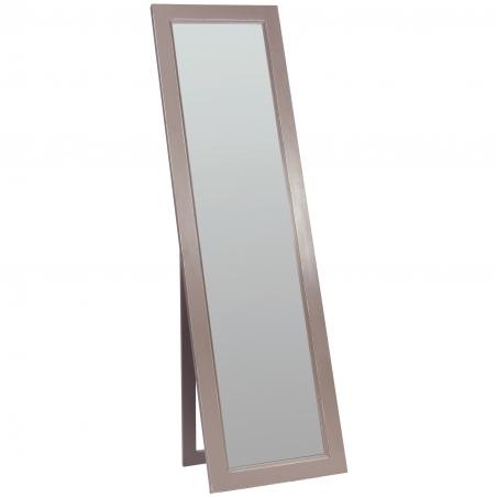 Oglinda cu rama din lemn brad cu suport 48 x 5 x 170 cm DISD6131217