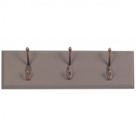 Cuier vintage din lemn brad 40 x 12 cm DISD646118