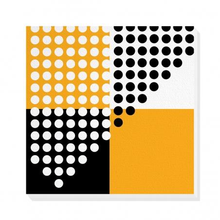 Tablou canvas decorativ Geometric Memphis V 50 x 50 cm