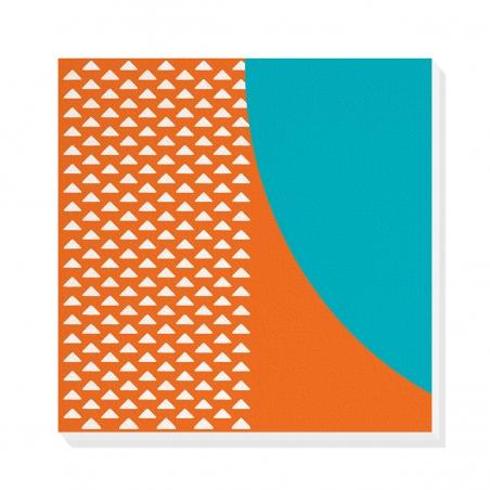 Tablou canvas decorativ Geometric Memphis VIII 50 x 50 cm