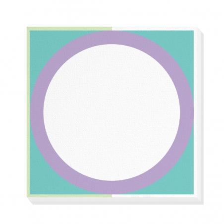 Tablou canvas decorativ Geometric Summer Forest IV 50 x 50 cm