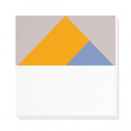 Tablou canvas decorativ Geometric Summer Forest V 50 x 50 cm