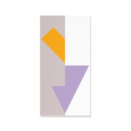 Tablou canvas decorativ Geometric Summer Forest II 50 x 100 cm