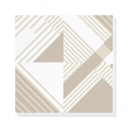 Tablou canvas decorativ Geometric Urban Day I 50 x 50 cm