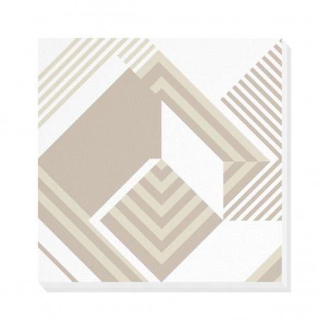 Tablou canvas decorativ Geometric Urban Day IV 50 x 50 cm