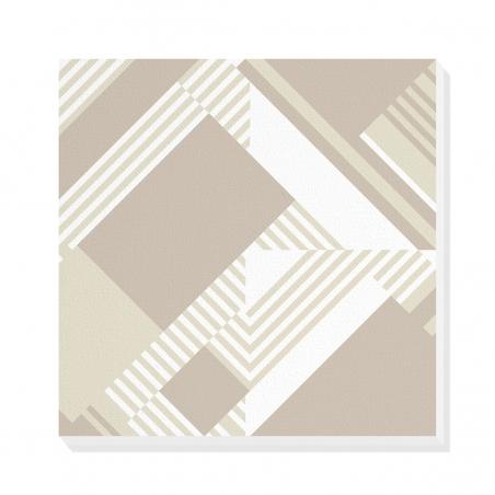 Tablou canvas decorativ Geometric Urban Day V 50 x 50 cm