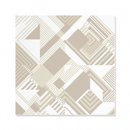 Tablou canvas decorativ Geometric Urban Day I 100 x 100 cm